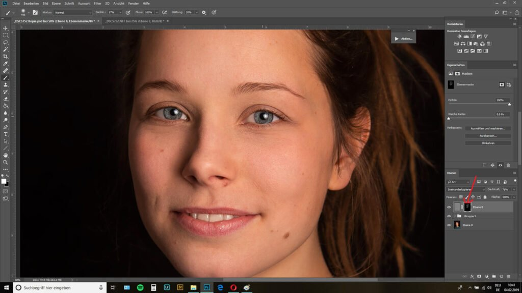 Hochpassfilter Photoshop 01