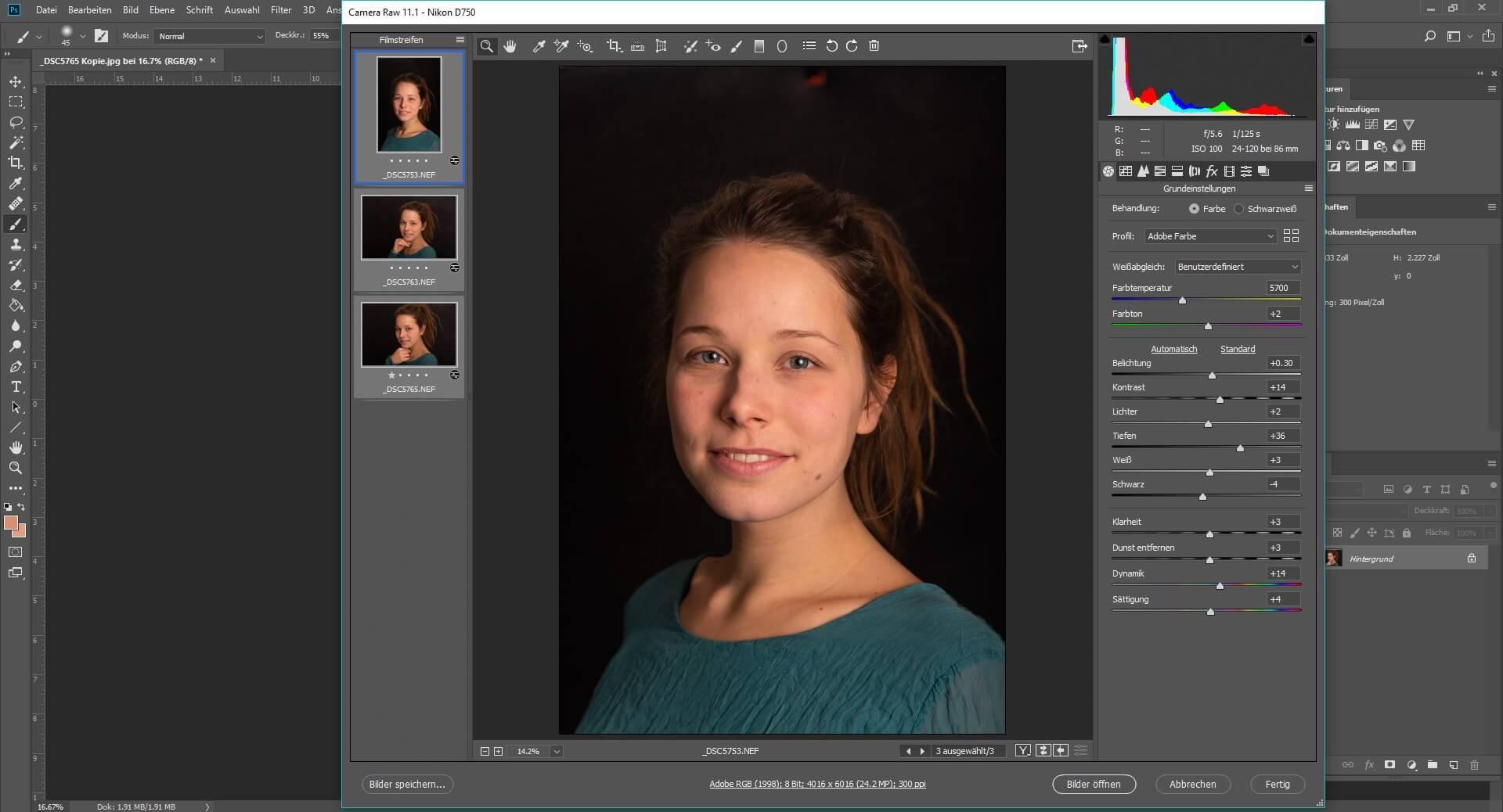 Kamera Raw Photoshop
